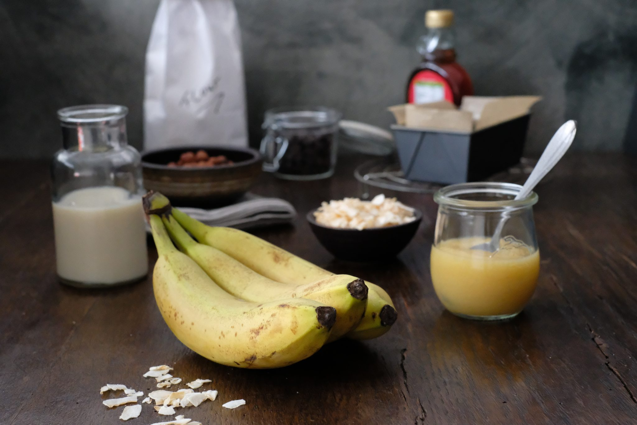 Zutaten Bananenbrot